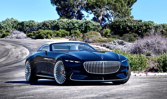 New 2017 Vision Mercedes-Maybach 6 Cabriolet EV Concept Revealed