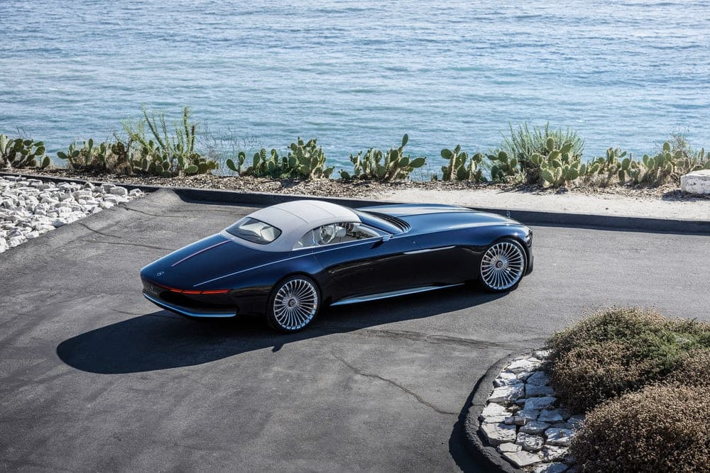 new 2017 vision mercedes maybach 6 cabriolet ev concept revealed find new upcoming cars. Black Bedroom Furniture Sets. Home Design Ideas