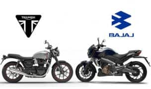 Bajaj-Triumph Mid-Capacity Motorcycle Already Under Development; India Launch in 2020