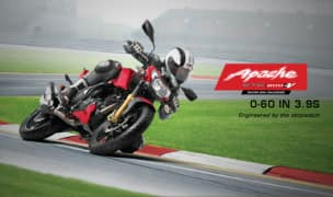 TVS Apache RTR 200 FI ABS Officially Teased; India Launch Imminent