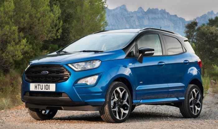 Image result for Ford EcoSport (Maruti Vitara Brezza rival) gets a new variant in India