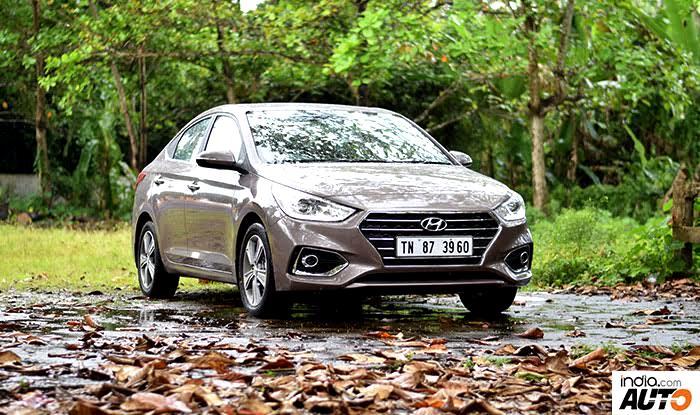 Hyundai Verna 2017 front right quarter profile