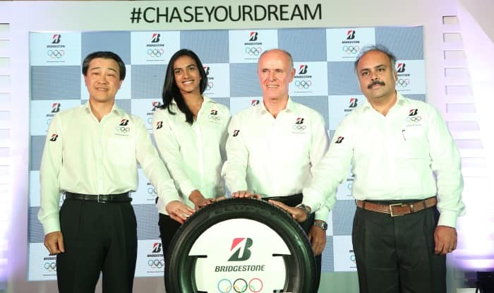 P V Sindhu appointed as Brand Ambassador for Bridgestone India