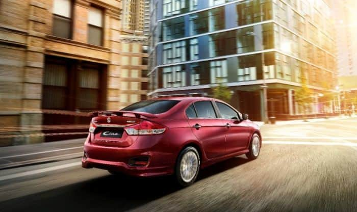 Maruti Ciaz S Variant Launched; Price in India starts at INR 9.39 Lakh