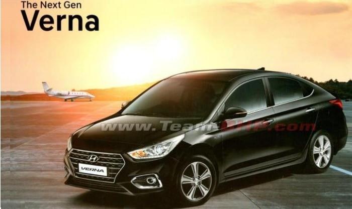 New Hyundai Verna 2017 Brochure Leaked Ahead Of India