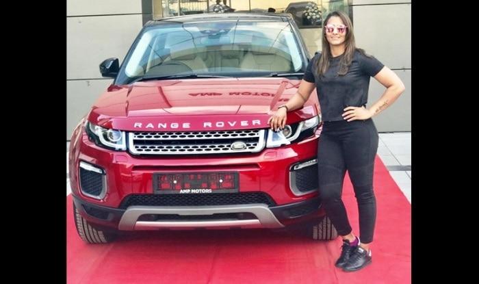 Geeta Phogat Buys New Land Rover Range Rover Evoque