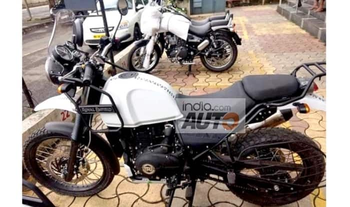 Royal Enfield Himalayan FI BS4 Images Leaked