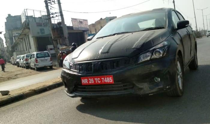 Maruti Suzuki Ciaz Facelift Spied Ahead of Unveil at Auto Expo 2018; India Launch Soon