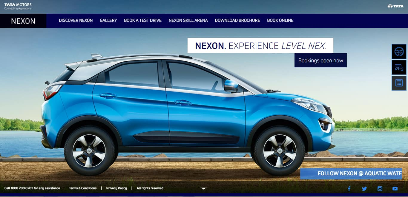 Colour a car - The Tata Nexon Is Based On Tata Motor S Impact Design Philosophy The Same Which Has Also Given Birth To The Tiago Hatchback Tigor Notchback And The Hexa