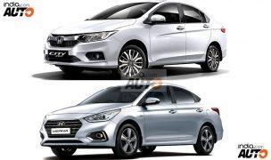 Hyundai Verna 2017 Vs Honda City 2017: Price in India, Maintenance Cost, Features & Mileage – Comparison