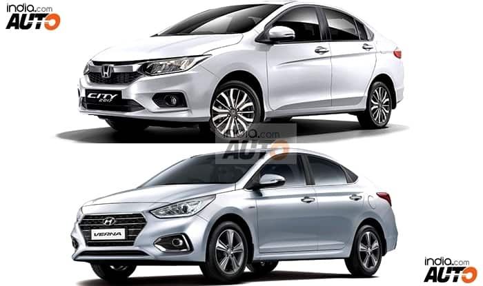 Hyundai Verna 2017 Vs Honda City 2017: Price in India, Maintenance Cost, Features & Mileage - Comparison