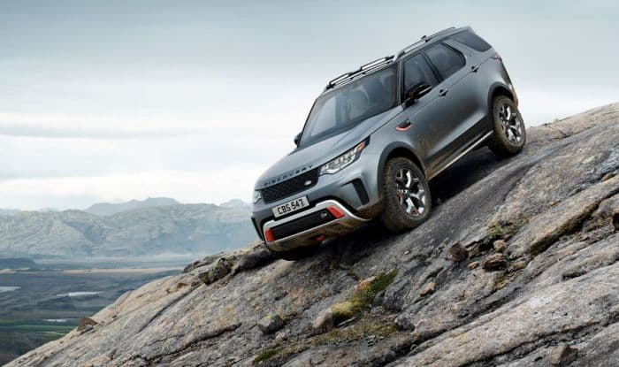 Land Rover Discovery SVX debuts with supercharged V8