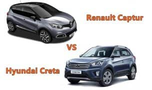 Renault Captur 2017 Vs Hyundai Creta – Comparison: Price in India, Launch Date, Mileage, Specs, Features