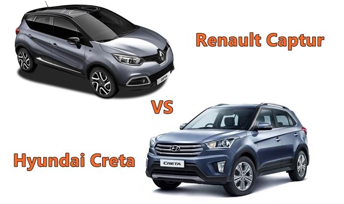 Renault Captur Vs Hyundai Creta: Price in India, Interior, Dimensions, Specs, Features - Comparison