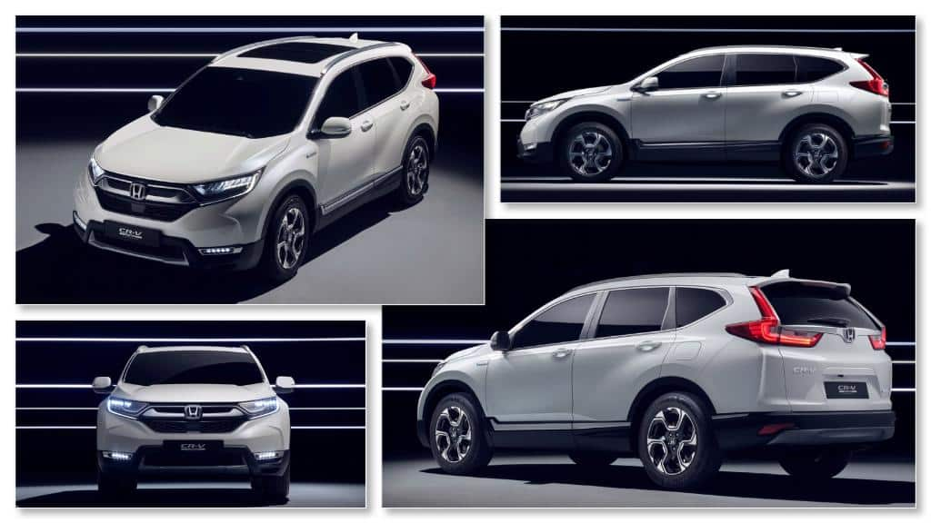 Hybrid Honda Crv >> Frankfurt Motor Show 2017: Honda CR-V Hybrid and 2018 Honda Civic Diesel Unveiled | Find New ...