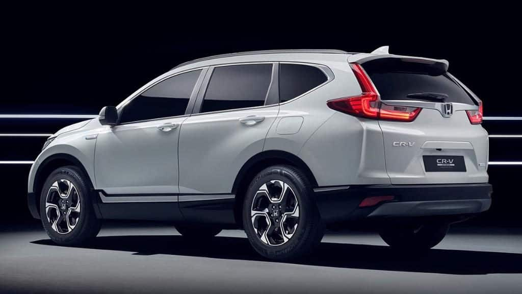 Frankfurt motor show 2017 honda cr v hybrid and 2018 for Honda crv 2017 vs 2018
