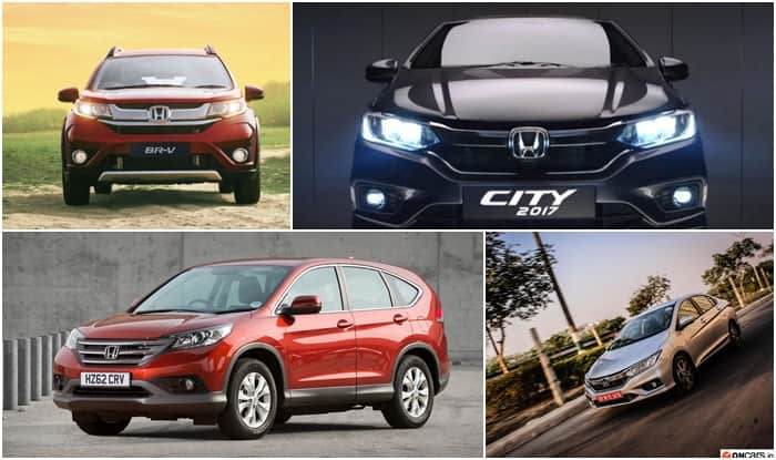 GST effect: Honda City, BR-V and CR-V Prices hiked by up to INR 89,000