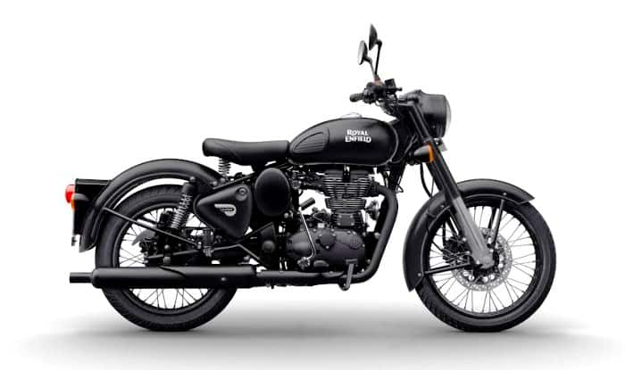 Royal Enfield to Commence Online Sale of 15 Limited Edition Stealth Black Classic 500 Motorcycles