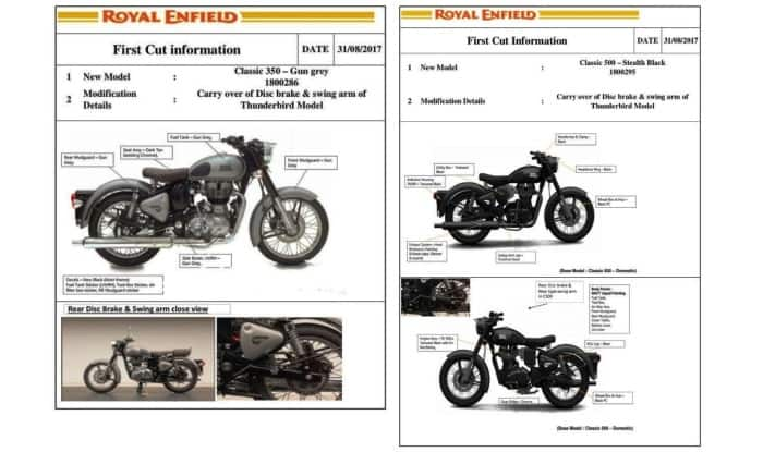Royal Enfield Classic 350 & Classic 500 New Colour Options