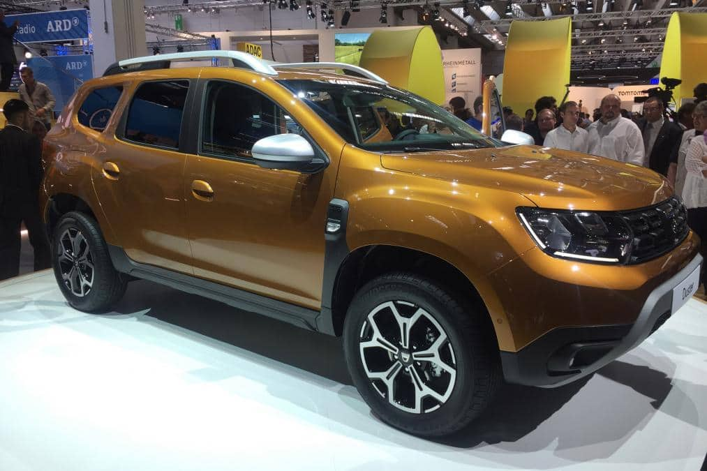 frankfurt motor show 2017 dacia renault duster 2018 revealed india launch likely next year. Black Bedroom Furniture Sets. Home Design Ideas