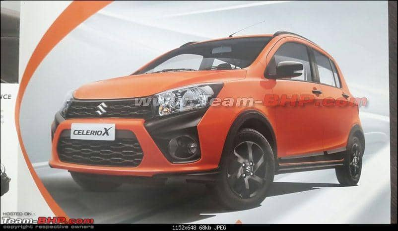 Maruti Suzuki Celerio X Brochure Leaked; India Launch, Price in India, Bookings, Features, Specs, Images