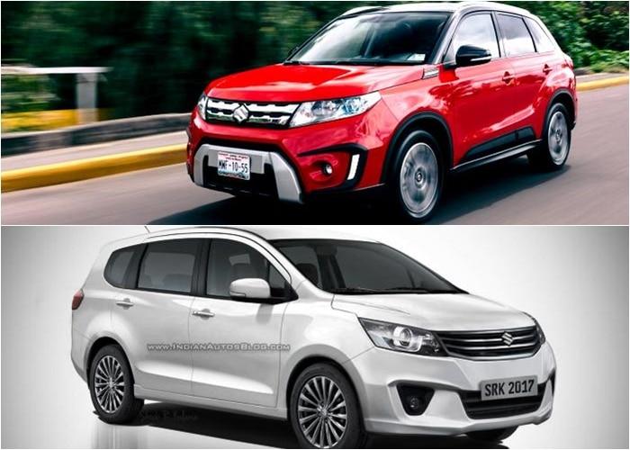 Maruti Suzuki to launch Ertiga Crossover & Bigger Vitara SUV by End