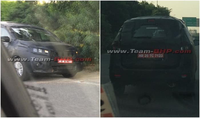 2018 suzuki ertiga.  ertiga new maruti suzuki ertiga 2018 spied price in india launch date features  dimensions specs intended suzuki ertiga o