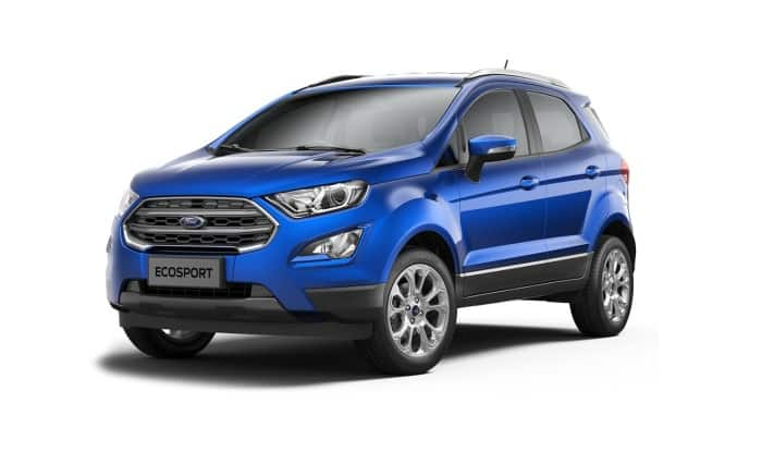 New Ford EcoSport 2017 Facelift