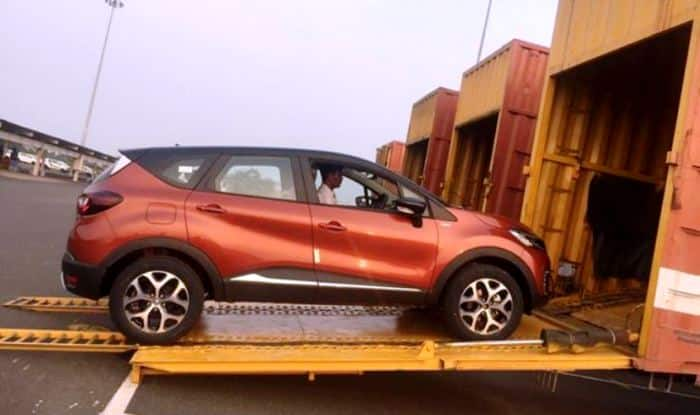 renault captur crossover suv dispatch started india launch expected price images. Black Bedroom Furniture Sets. Home Design Ideas