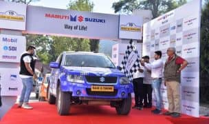 2017 Maruti Suzuki Raid de Himalaya Flagged Off from Manali in Association with ExxonMobil