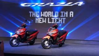 Honda Grazia 125 Scooter Launched; Priced in India at INR 57,897