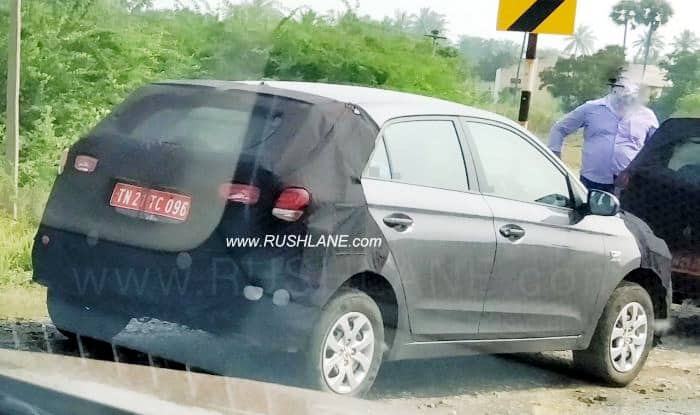 Hyundai Elite i20 facelift AT variant Spied Testing; India Launch Likely by End 2018