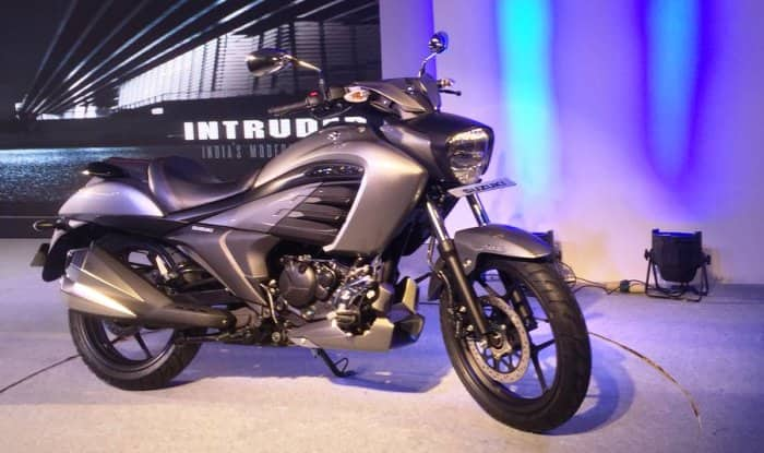 Suzuki Intruder 150 side prodile