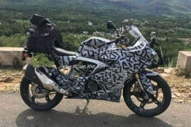 TVS Apache RR 310S (Akula 310) Spotted Testing with Touring Accessories; India Launch Next Month