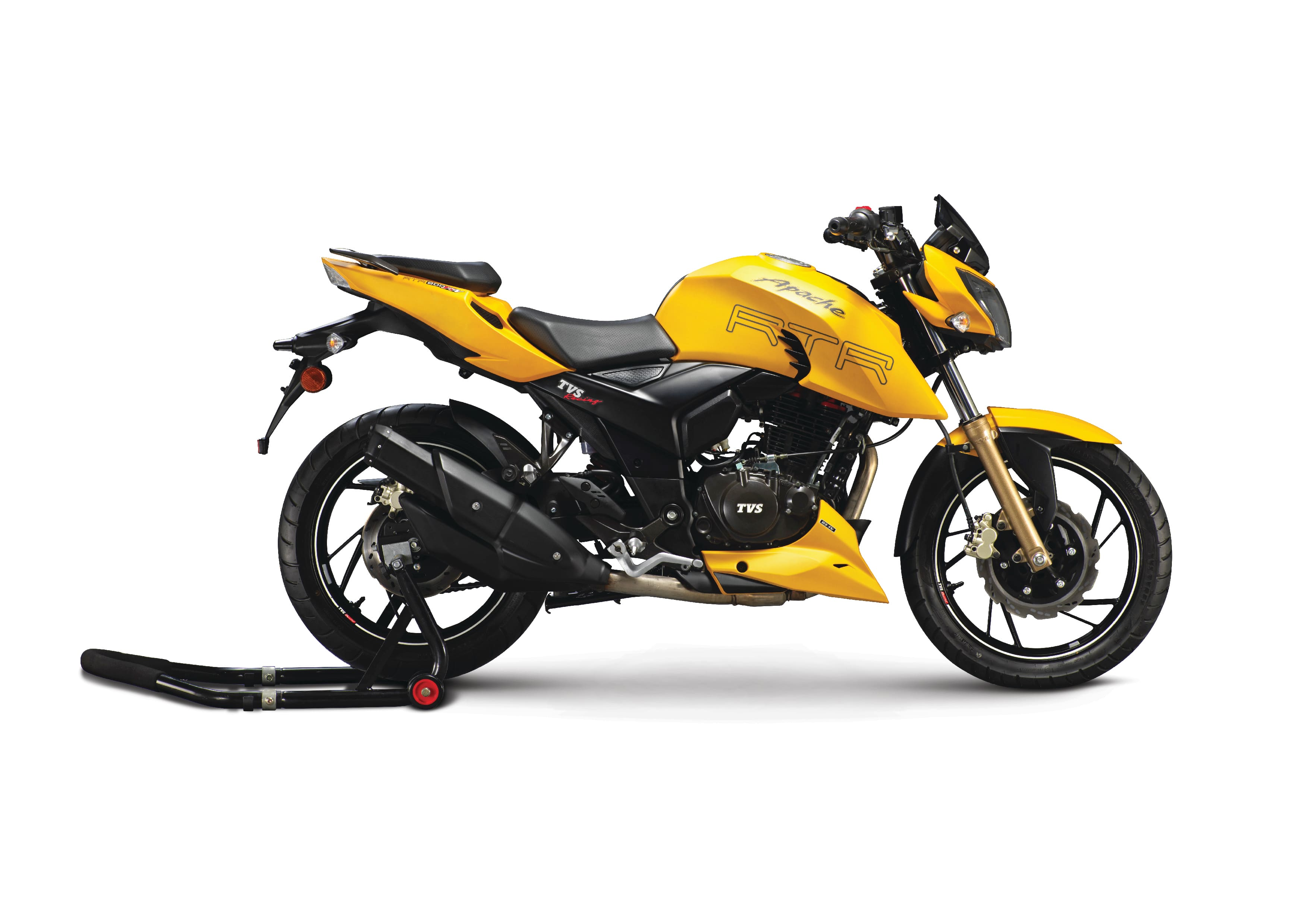 TVS Apache RTR 200 Fi4V with Electronic Fuel Injection Launched; Priced in India at INR 1.07 Lakh