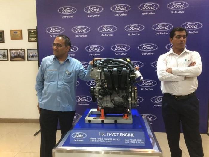 ecosport 1.5-litre petrol engine