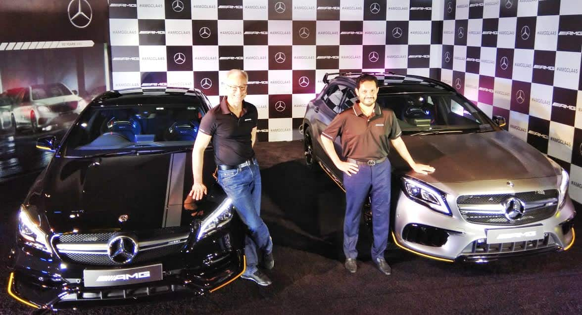 2018 Mercedes-AMG CLA 45 & GLA 45 Facelift Launched; Price in India starts from INR 75.20 lakh