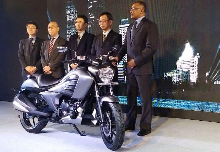 suzuki intruder 150 launched in India event