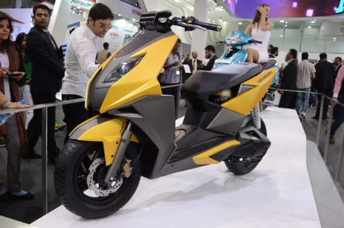 TVS Graphite 150cc Scooter to be showcased at Auto Expo 2018: Launch Date, Price in India, Top Speed, Specs, Features