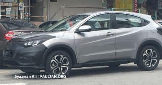 2018 Honda HR-V Facelift Spied Testing Might Launch in India