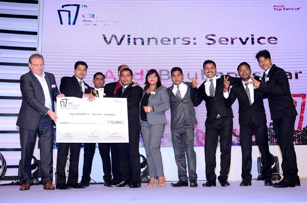 Luxury Vehicle: Audi India Completes 7th Edition Of The National Audi Twin