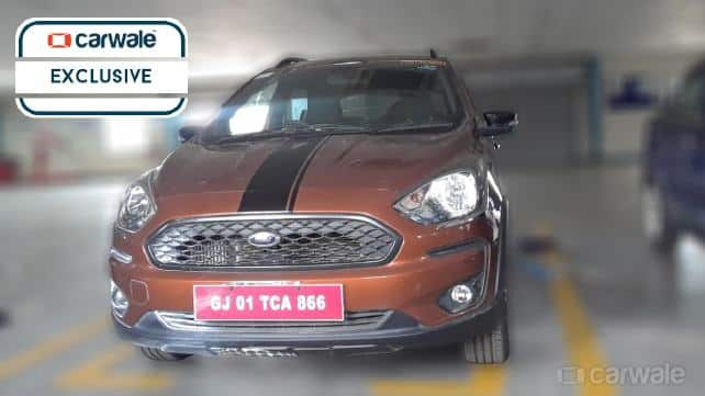 New Ford Figo Cross Spied Uncamouflaged Ahead of Launch; Price in India, Engine Specifications, Features, Interior