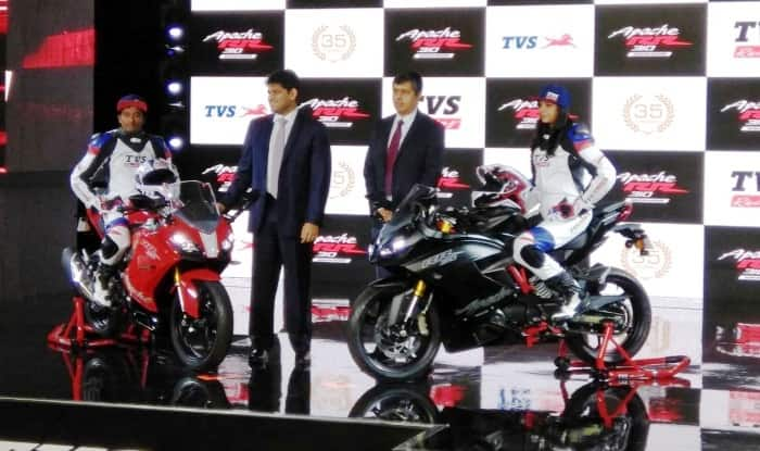 LIVE Updates - TVS Apache RR 310 (Akula 310) Launched in India at INR 2.05 Lakh; Images, Top-speed & Features