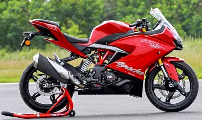 TVS Apache RR 310 side profile