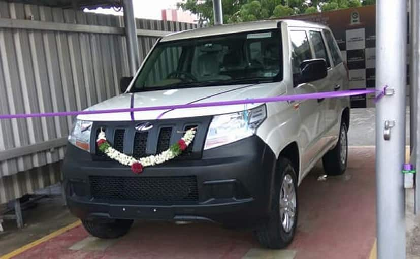 Mahindra Tuv300 Plus Delivered Ahead Of India Launch