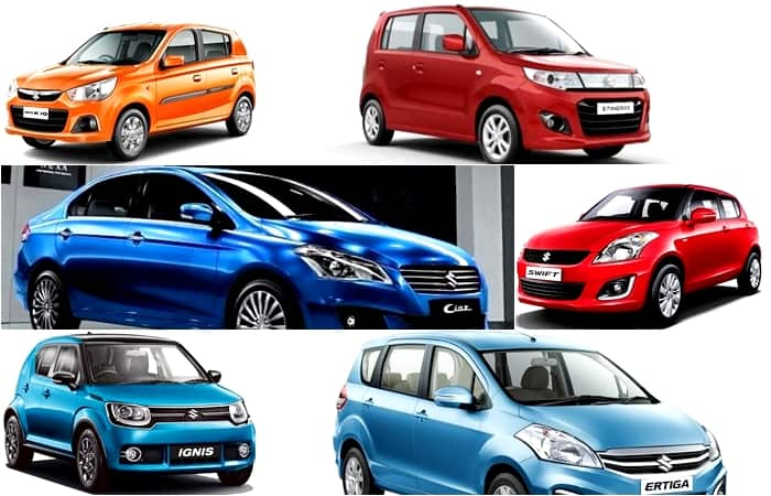 Year End Offers - Maruti Suzuki Discounts & Benefits up to INR 1 Lakh on Ciaz, Ertiga, Swift, WagonR, Alto & Others