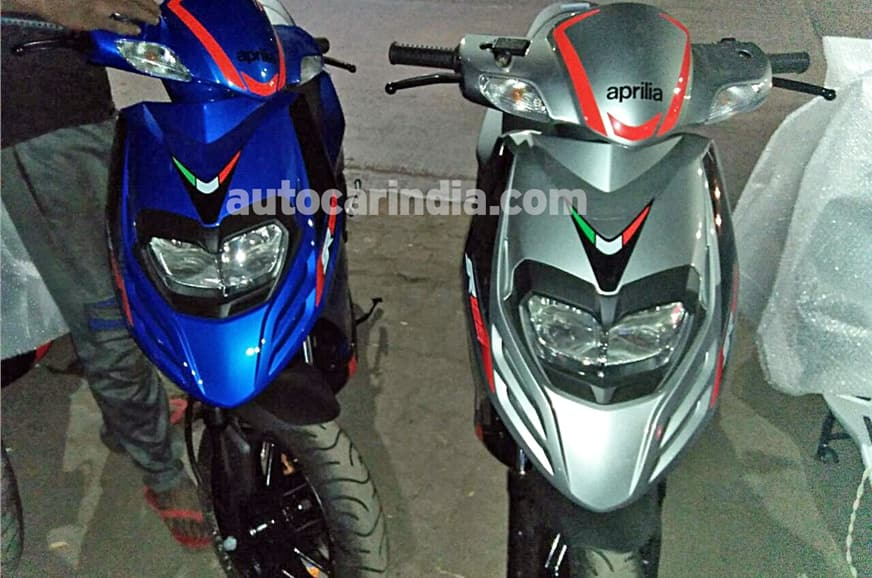 aprilia sr 125 scooter spied launch date price in india top speed specification mileage. Black Bedroom Furniture Sets. Home Design Ideas