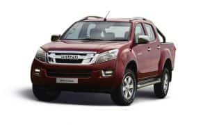 2018 Isuzu D-Max V-Cross Launched; Price in India Starts at INR 14.26 Lakh