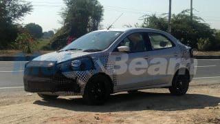 Ford Aspire Facelift 2018 Spied Testing; Launch Date, Price in India, Images, Interior, Specs, Features
