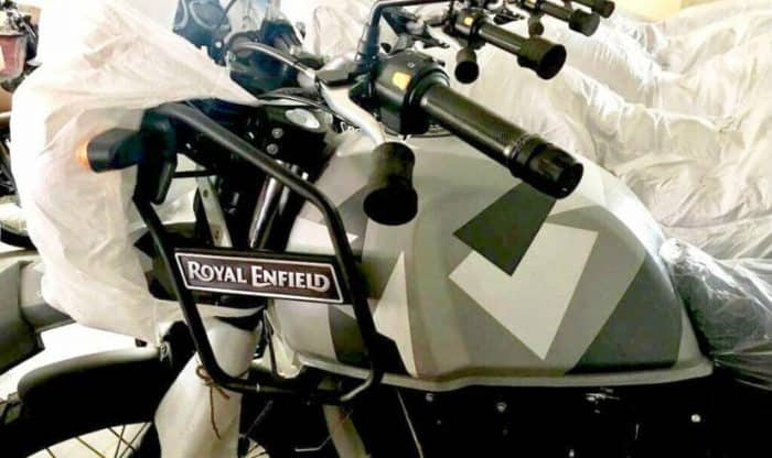 Royal Enfield Himalayan camouflage colour scheme to be launched on January 12